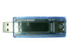 Тестер USB тока напряжения потребляемой энергии KEWEISI KWS-V20