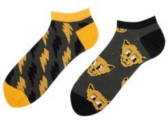 Короткие носки мужские Sammy Icon Thundercat Short 40-46 Серые