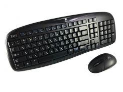 Logitech EX100 Wireless Keyboard and Mouse Combo Black Grade B2 Refurbished