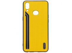 TPU чехол SHENGO Textile series для Samsung Galaxy A10s
