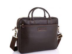 Мужская коричневая сумка для ноутбука Allan Marco RR-4024B