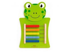 Настенная игрушка Viga Toys Лягушка со счетами (50679)