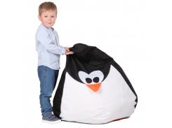 Кресло-мешок Хатка Пингвин детское (до 5 лет)