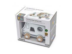 Каталка Viga Toys Машинка-сортер (51612)