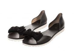 Жіночі балетки Rubbe 38 Black