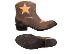 Жіночі черевики XYXYX Stiefelette 37 Brown