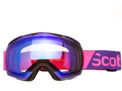 Маска гірськолижна SCOTT LINX Illuminator-50 Purple