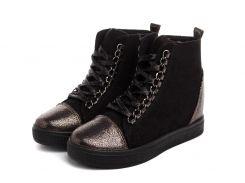 Жіночі черевики Haver Sniekers 40 Black