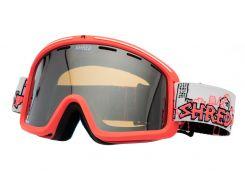Маска гірськолижна Shred Monocle Cityscape Orange