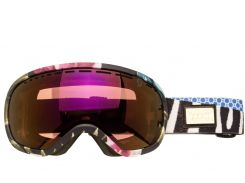 Маска гірськолижна SCOTT OFF-GRID Multicolor Purple
