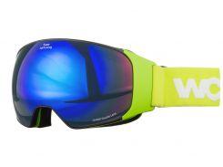 Маска гірськолижна Woosh W93-2 Lime