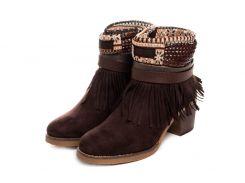 Жіночі черевики Kylie Kantri Marron 38 Brown