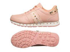 Кроссовки женские Cool pink-gold 36