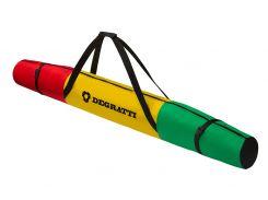 Чохол для лиж Degratti Ski 160 Green-Yellow-Red
