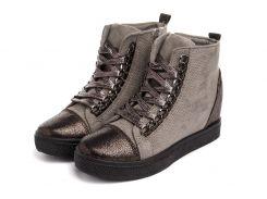 Жіночі черевики Haver Sniekers 37 Grey