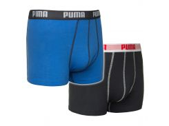 Труси-шорти Puma Boxers S Blue Black 2 шт