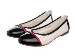 Жіночі балетки Collection 38 Lucky Black White