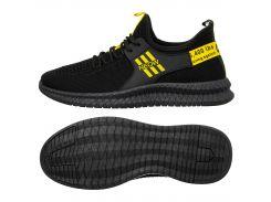 Чоловічі кросівки SlingMe 45 Black-Yellow