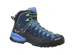 Чоловічі трекінгові черевики Salewa MS ALP TRAINER MID GTX 44,5 Blue