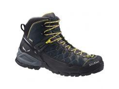 Чоловічі трекінгові черевики Salewa MS ALP TRAINER MID GTX 46 Black-Yellow