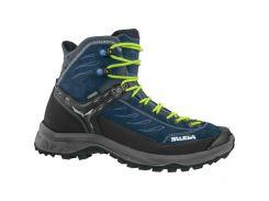Чоловічі трекінгові черевики Salewa MS HIKE TRAINER MID GTX 40 Blue-Grey
