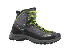 Чоловічі трекінгові черевики Salewa MS HIKE TRAINER MID GTX 41 Black-Grey
