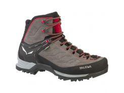 Чоловічі трекінгові черевики Salewa MS MTN TRAINER MID GTX 46 Grey-Red