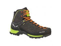 Чоловічі трекінгові черевики Salewa MS MTN TRAINER MID GTX 44 Black-Green