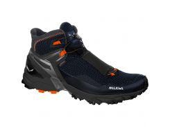 Чоловічі трекінгові черевики Salewa MS ULTRA FLEX MID GTX 45 Black