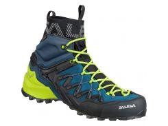 Чоловічі трекінгові черевики Salewa MS WILDFIRE EDGE MID GTX 43 Blue