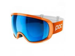 Маска гірськолижна POC Fovea Clarity Comp Zink Orange/Spektris Blue