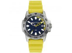 Чоловічий годинник Nautica Срібний