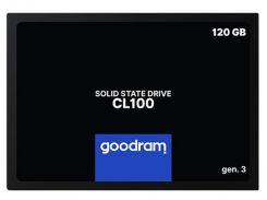 SSD накопитель Goodram CL100 120GB GEN.3 SATAIII TLC (SSDPR-CL100-120-G3) (6590627)