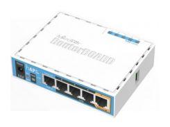 Двухдиапазонная Wi-Fi точка доступа с 5-портами Ethernet, для домашнего использования MikroTik hAP ac lite (RB952Ui-5ac2nD)