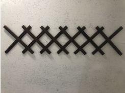 Заборчик Grandmassiv Мак деревянный декоративный 1.5х0.4 м (04MK1500AL0000SO)