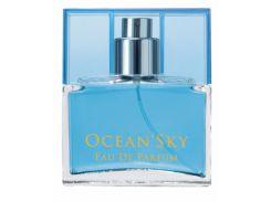 Парфюм для мужчин Ocean Sky. Наполнен морской волной с мандарином, дыней, эвкалиптом и пачули.
