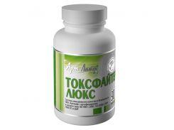 Токсфайтер люкс (90 капсул) - энтеросорбент, в состав которого входят экстракты лечебных трав